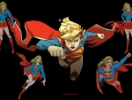 Supergirl Times 5 wallpaper