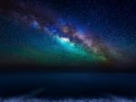 Milky Way Galaxy from the Canary Islands