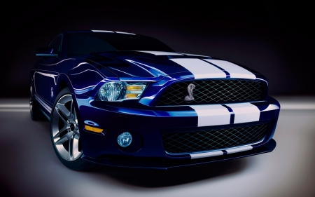 Ford Mustang Shelby - mustang, cars, blue cars, vehicles, ford, shelby, Ford Mustang Shelby