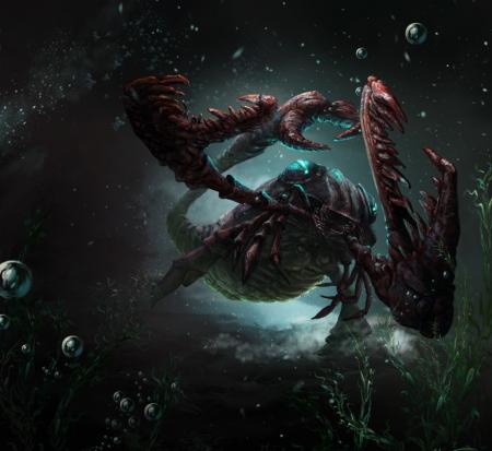 Sea scorpion - Fantasy & Abstract