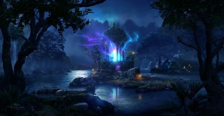 Fairy Forest Fantasy Amp Abstract Background Wallpapers On