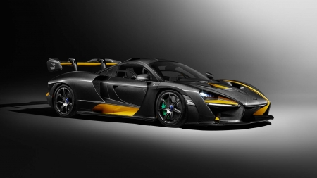 2018 McLaren Senna Carbon - cool, McLaren Senna, car, Carbon, fun, 2018