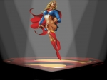 Supergirl Wallpaper In The Spotlight