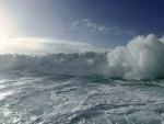 Large Crashing Waves