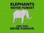 Elephants Never Forget And Forgive