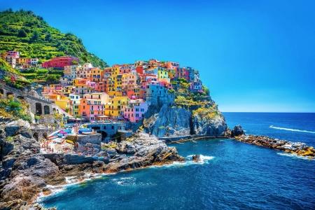 Cinque Terre - Vernazza, Cinque Terre, Italian Riviera, Seaside villages