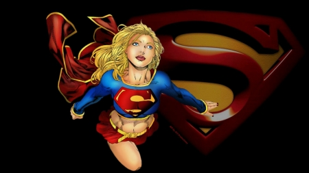 Supergirl Wallpaper Perfect Flight - supergirl, deviantart, flight, cartoon, hd wallpaper, 1920x1080 only, fan art, red cape, anime, desktop nexus, kara danvers, sexy girl, fanpop, dc comics