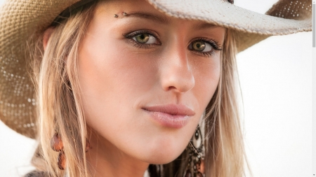 Jake's Folly . . - hats, style, models, fun, women, western, female, fashion, blondes, cowgirl