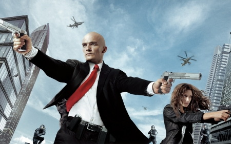 Hitman Agent 47 2015 Movies Entertainment Background