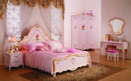 Pink Bedroom Photography Abstract Background Wallpapers On