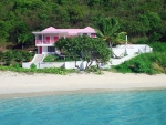 Pink House St John  Virgin Island