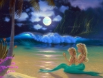 Moon Beach Mermaids