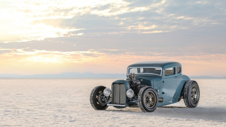 1932 Ford Roadster - cars, vehicles, ford, salty flats, roadster, 1932 Ford Roadster