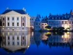 Blue Hour in Hague, Netherlands
