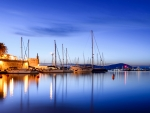 Blue Hour in Alghero