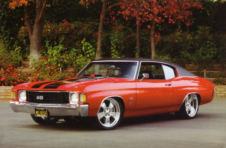 Charming 1972 Chevrolet Chevelle SS