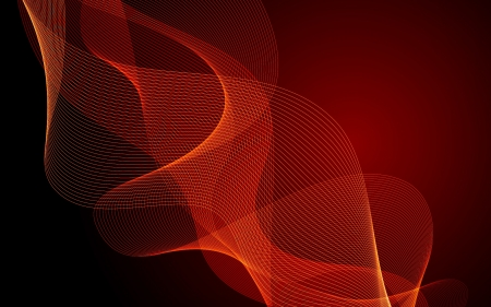 Red Swirls - dark red, swirls, abstract, vector