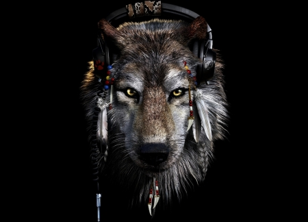 Wolf Fantasy Abstract Background Wallpapers On Desktop Nexus Image 2370561