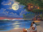 Moonlit Picnic in Paradise