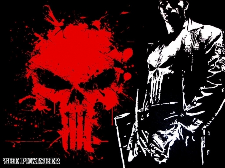 The Punisher. - anti-hero, marvel, comic, punisher, superhero, comics, movies, skull