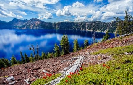 Beautiful Lake View Lakes Nature Background Wallpapers