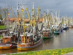 Harbor in Greetsiel, Germany