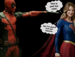 Deadpool Wallpaper - Supergirl