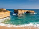 Natural Bridge off the Coast of Australia
