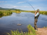 Pleasurable fishing experience with fishfinder