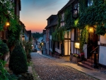Mermaid Street Rye East Sussex England