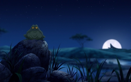 Hakuna Matata - Frog, Moon, King, Lion, Movie
