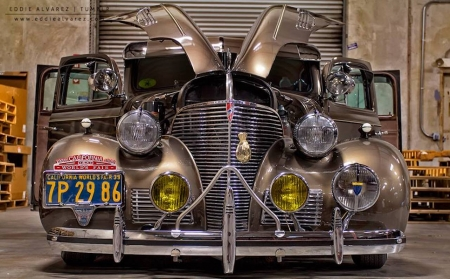 1939 Chevy Master Deluxe - fleetline, car, chevy, headlamps, oldie, lowrider, vintage