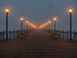 Fog on the Pier