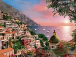 Positano on the Amafi Coast