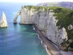 The White Cliffs and Arches of Etretat