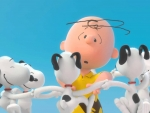 Charlie Brown an Snoopy