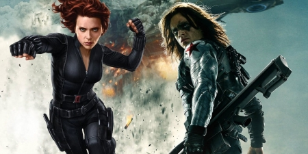 Black Widow And Winter Soldier Movies Entertainment