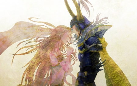 Final Fantasy - romance, cg, love, final fantasy, manga, game, couple, anime, fantasy
