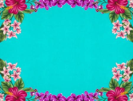 Flower Vintage Background