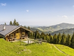 Alpine Landscape with a chalet