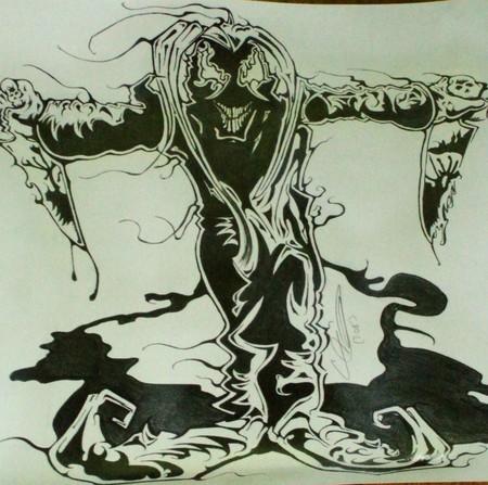 Evil Joker - death, evil, joker