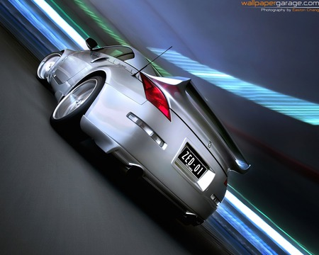 Nissan 350Z Twin Turbo (Back) - cool, nissan, car