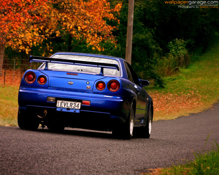 Nissan Skyline Gtr - cool, nissan, car
