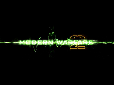 Modern Warfare2 Logo - cool, logo, callofduty, modern warfare, game