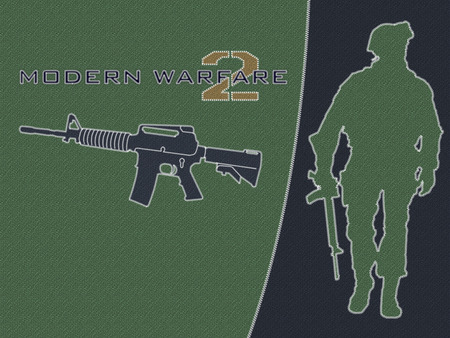 Modern Warfare2  - cool, logo, callofduty, modern warfare, game