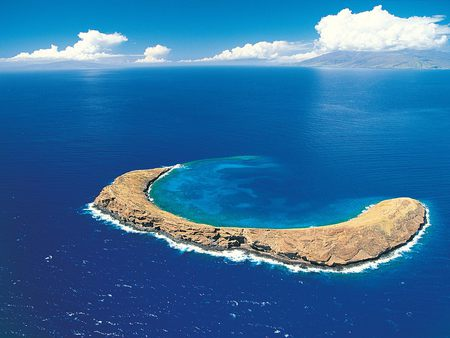Molokini Crater Maui Hawaiian Islands