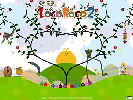 Loco Roco 2 - loco roco, videogame, game, play station, psp