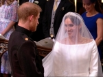 Royal wedding scene