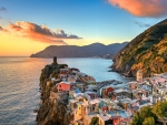 City of Vernazza in Italy
