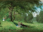 Merry Company in a Summer Meadow